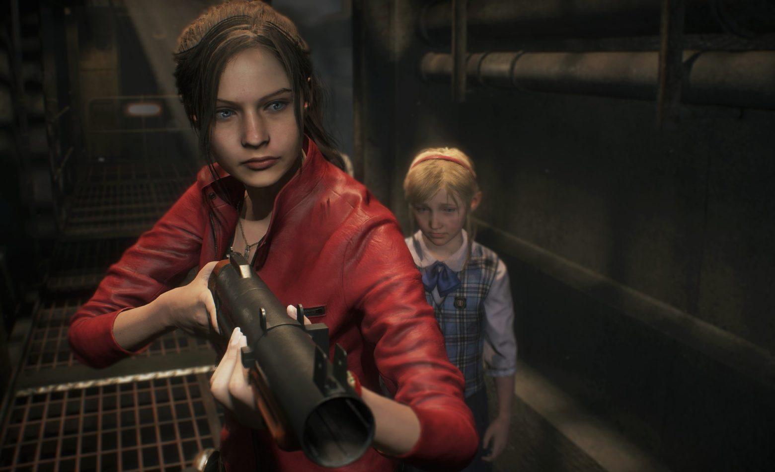 Continuando a saga de Claire em Resident Evil 2 [Gameplay]