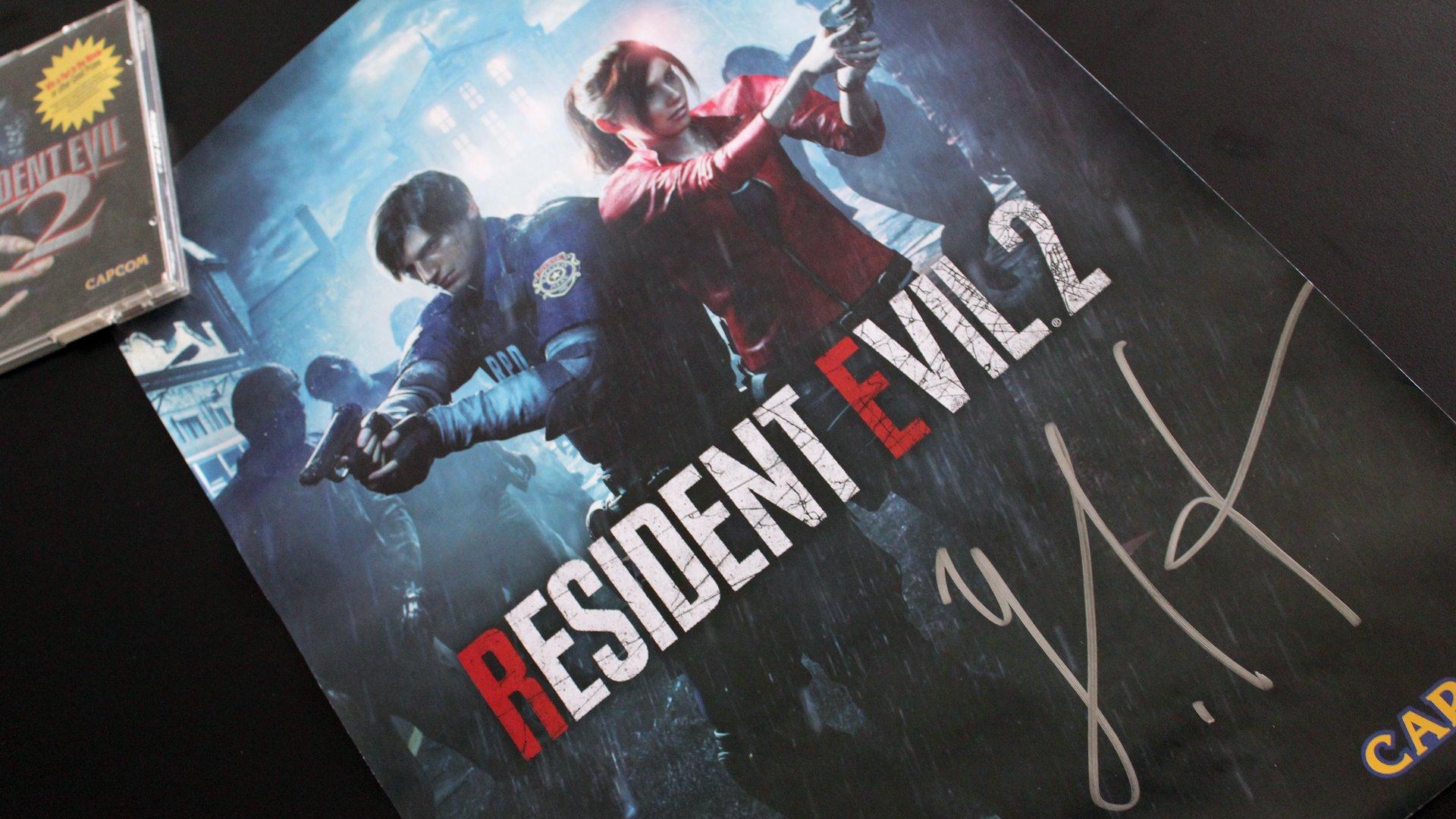Ganhe um pôster autografado pelo produtor de Resident Evil 2!