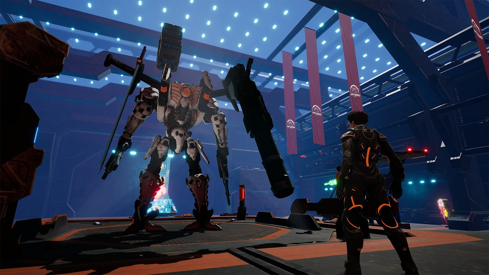 Daemon X Machina: ação com mechas no Nintendo Switch [Gameplay]