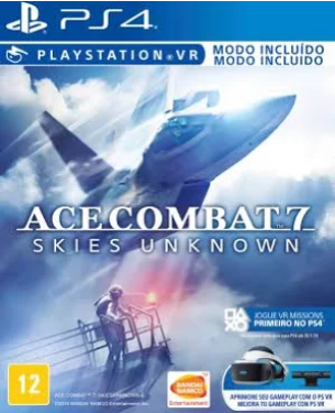 Capa de Ace Combat 7: Skies Unknown
