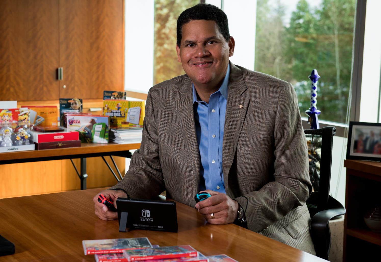 O legado de Reggie Fils-Aimé, que está deixando a Nintendo