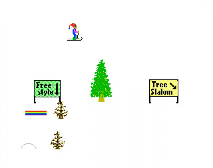 SkiFree Online não é bem o que você imagina
