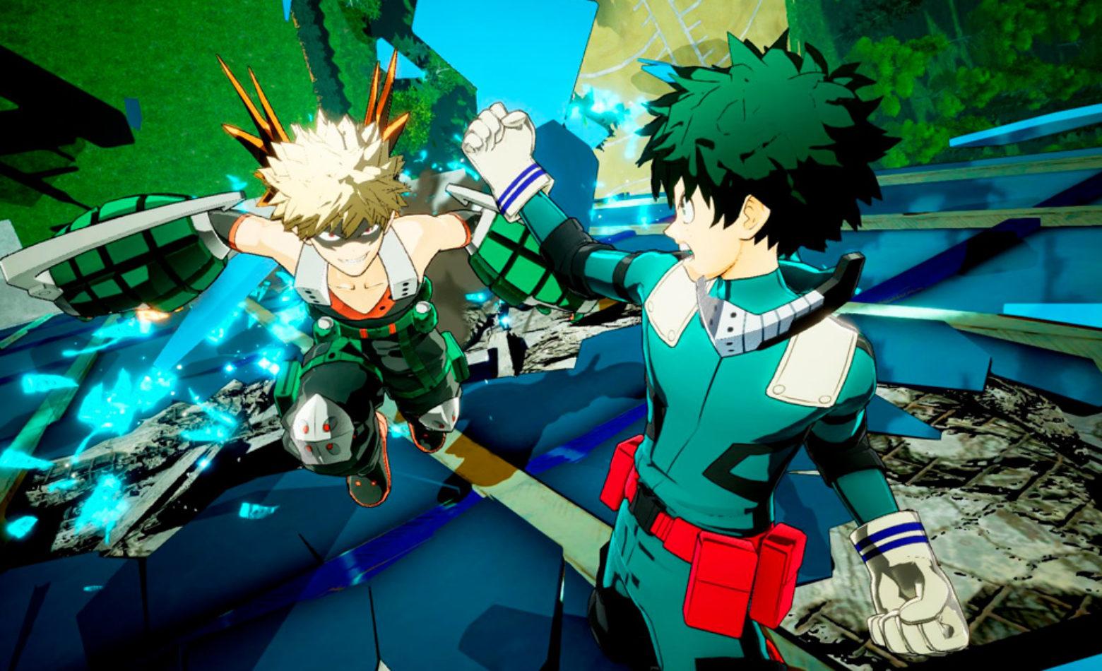 Treinando pra ser herói em My Hero: One's Justice [Gameplay]