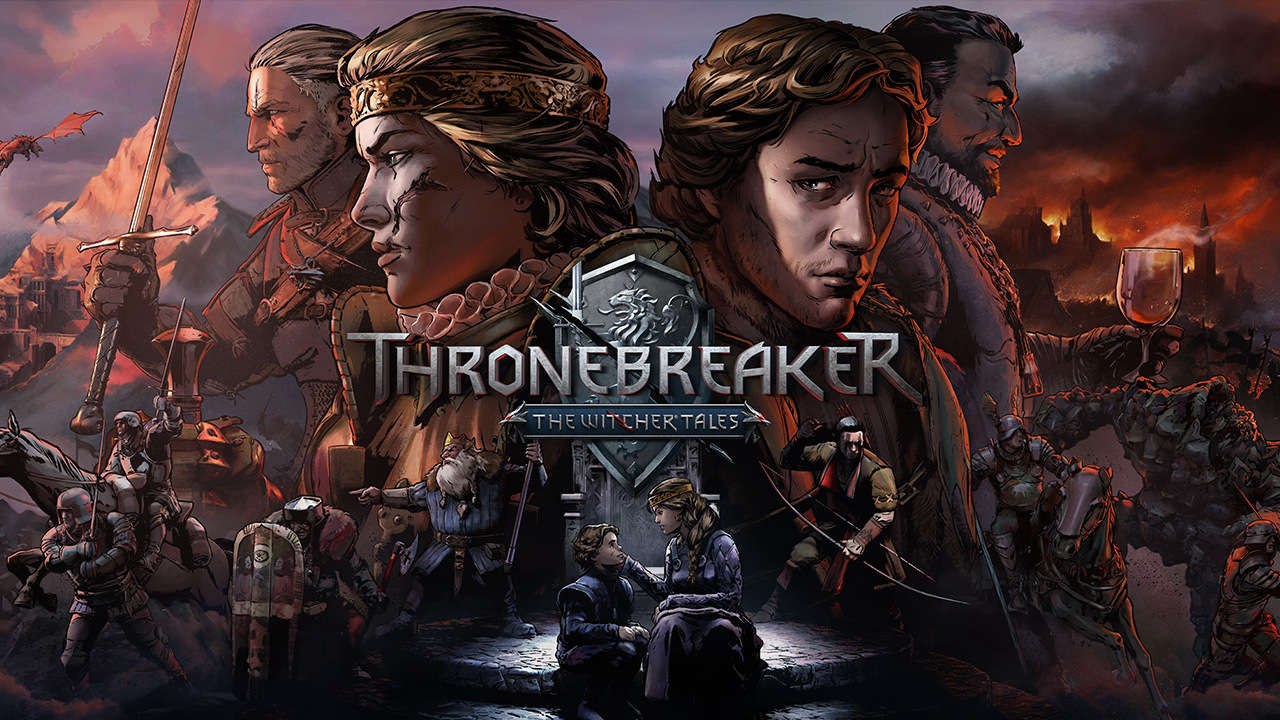 Capa de Thronebreaker: The Witcher Tales