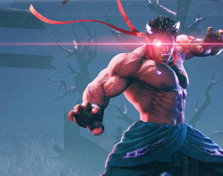 Kage está à espreita em Street Fighter 5