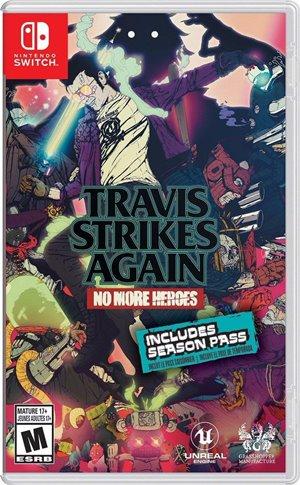 Capa de Travis Strikes Again: No More Heroes