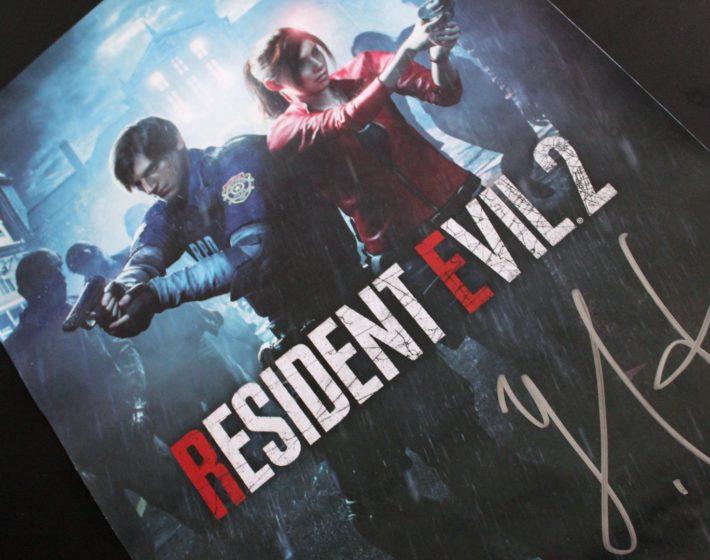 Conheça o vencedor do poster autografado de Resident Evil 2
