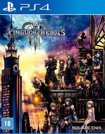 Capa de Kingdom Hearts III