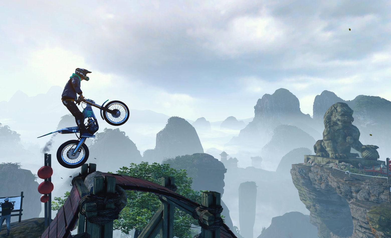 Acelerando e fracassando pelo mundo em Trials Rising [Gameplay]