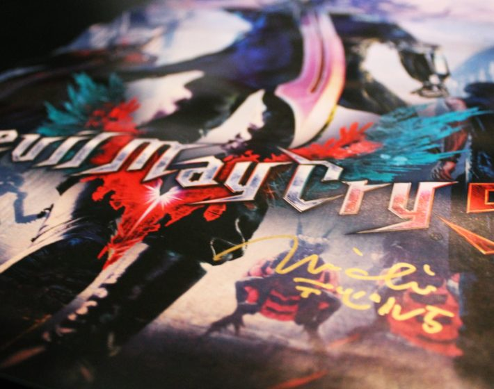 Conheça a vencedora da promoção do poster autografado de Devil May Cry 5